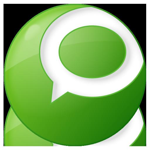 Social Technorati Button Green Icon 512x512 png