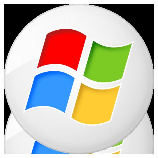 Social Windows Button Icon 512x512 png