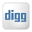 Social Digg Box White Icon 64x64 png
