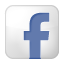Social Facebook Box White Icon 64x64 png