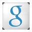 Social Google Box White Icon 64x64 png