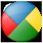 Social Google Buzz Button Icon 64x64 png