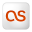 Social Last.fm Box White Icon 64x64 png