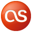 Social Last.fm Button Red Icon 64x64 png