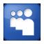 Social Myspace Box Blue Icon 64x64 png