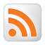 Social RSS Box White Icon 64x64 png