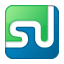 Social StumbleUpon Box Color Icon 64x64 png