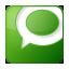 Social Technorati Box Green Icon 64x64 png