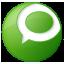 Social Technorati Button Green Icon 64x64 png