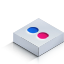 Flickr Color 2 Icon 64x64 png