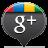 Google Plus Black Icon 48x48 png