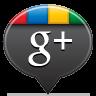 Google Plus Black Icon 96x96 png