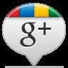 Google Plus White Icon 96x96 png