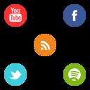 Somicro Social Media Icons