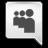 Grey Myspace Icon