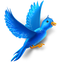 Flying Bird Sparkles Icon 256x256 png