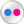 Flickr White Icon 24x24 png