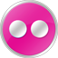 Flickr Pink Icon 64x64 png