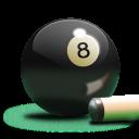 Billiards 8-Ball Colored Icon