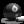 Billiards 8-Ball Grey Icon 24x24 png