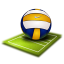 Volleyball Icon 64x64 png