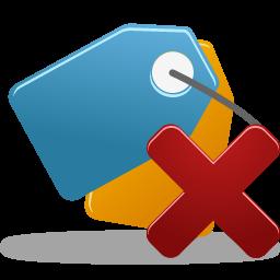 Bookmark Delete Icon 256x256 png