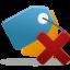 Bookmark Delete Icon 64x64 png