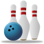 Sport Bowling Icon 64x64 png
