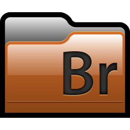 Folder Adobe Bridge Icon Adobe Cs4 Files Folders Icons Softicons Com