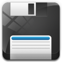 Floppy Drive 3 Icon 128x128 png