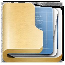 Folder Data Icon Ampola Icons Softicons Com