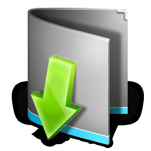 Downloads Folder Icon - Antares Icons - SoftIcons.com