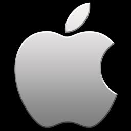 Apple Aluminum Icon - Apple Logo Icons - SoftIcons.com