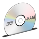 Disc DVD-RAM Icon 128x128 png