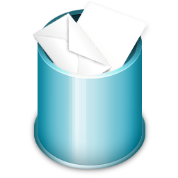 Trash Full Icon 256x256 png