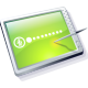 Tablet Lime Icon 80x80 png