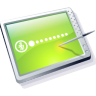 Tablet Lime Icon 96x96 png