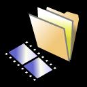 BeOS Folder Video Icon