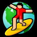 BeOS NetPositive Icon