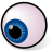 BeOS Eyeball Icon 48x48 png