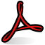 BeOS Acrobat Icon 64x64 png