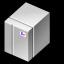 BeOS BeBox Grey Icon 64x64 png