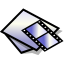 BeOS MIDI Video Doc Icon 64x64 png