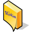 BeOS Stickies Icon 64x64 png