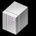 BeOS BeBox Grey Icon 72x72 png