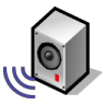 BeOS Audio Server Icon 96x96 png