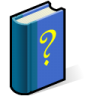 BeOS Help Book Icon 96x96 png