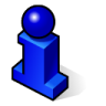 BeOS Info Icon 96x96 png