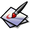 BeOS Paint Icon 96x96 png