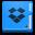 Places Folder Dropbox Icon 32x32 png